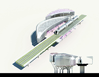 Tram Station Project C9. Kaohsiung.2012. FIRST PRIZE