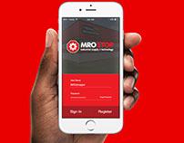 MRO Stop IOS App Concept