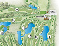 Golf Associates Scorecards and Maps