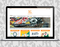 Responsive website // RomeArtPeople