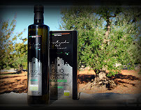 Custom packaging Extra Virgin Olive Oil Contrada Barone