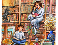 Grandma's Library