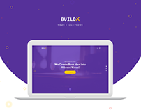 BuildX - Creative Agency Landing