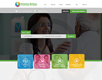 Health Wellness Web Template