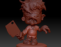 Zombie (sculpting)