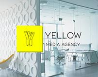"Logo for media agency ""Yellow"""