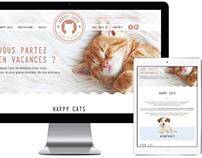 Logo & Site Web Happy Cats