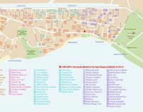 Waikiki Condominium Map Illustration