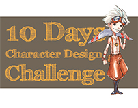 10 Days Character Design Challenge