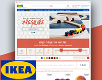 UI&UX Design website Ikea
