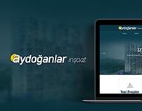 Aydoğanlar İnşaat | Web Design