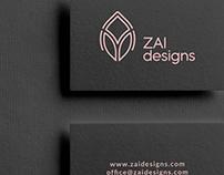 ZAI designs branding | 2019