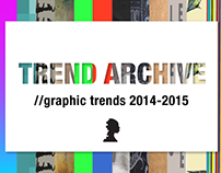 Trend Archive// Graphic trends 2014-2015