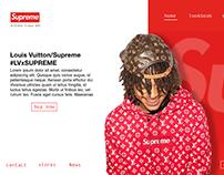 UIUX: Supreme website redesign