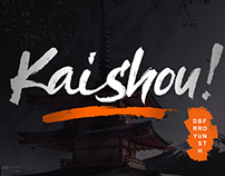 Free Kaishou Brush Font