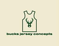 Milwaukee Bucks Jersey Concepts