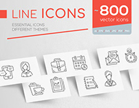 Line Icons Collection