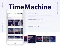 TimeMachine - Mobile app
