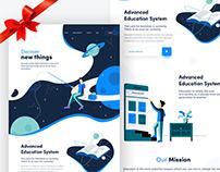 Opus | Education website