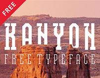 Kanyon — free typeface (multilingual)