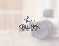 Разработка логотипа для частного фотографа KIRILL NIK.