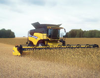 New Holland Harvester 360° Web