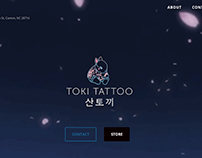 Toki Tattoo Website