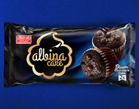 Shirinasal brownie cake packaging design