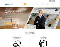 Access Centre Website (English-Arabic)
