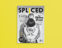 Spliced Magazine Covers: Issue 1-6