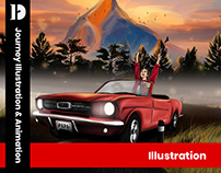 Journey Illustration & Animation