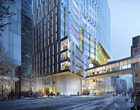 SickKids Support Center | B+H Architectes