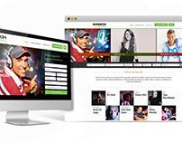 Web Corporativa - Scratch Eventos - Scratch Music Group