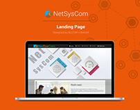 NetSysCom Responsive Website