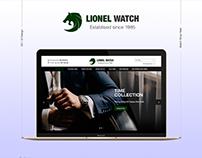 Lionel Watch - Ecommerce Website