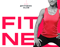 Hashtag Fitness Club Gym Branding