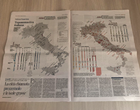 """Toponomastica Italiana"" for La Lettura"
