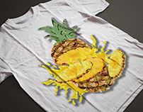 Digital Pineapple Design