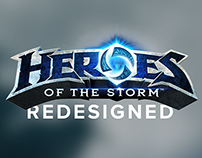 Heroes of the Storm Redesigned