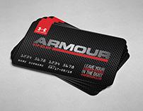 Under Armour VIP Club Card Design Proposal