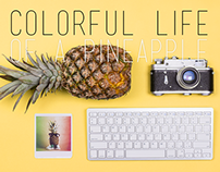Colorful Life of a Pineapple