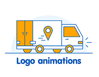 Set of logo animations