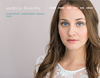 LA Actress Portfolio | Web Design + Branding