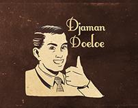 Djaman Doeloe Line Sticker