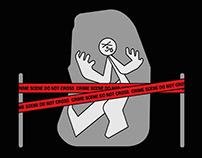 A-Z crime card