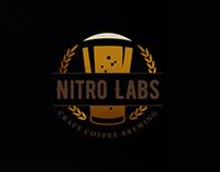 Nitro Labs Craft Coffee Branding