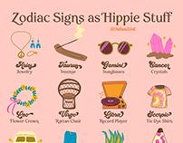 Hippie Zodiac Signs