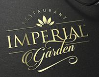 IMPERIAL GARDEN Restaurant - logo design