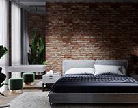 Bedroom Green Loft