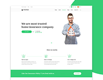 Promise- Insurance Company Website Concept
